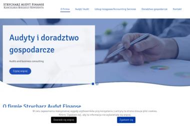 Strycharz Audyt Finanse - Biznes plan Nowy Targ