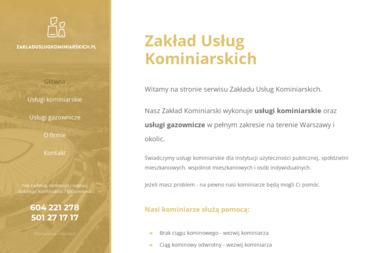 Zakład Usług Kominiarskich Andrzej Kaleński-Jaśkiewicz - Kominiarz Warszawa