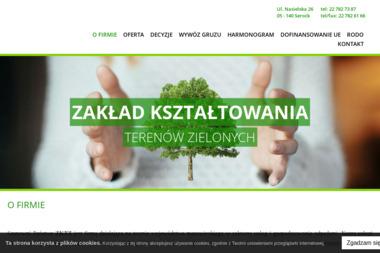 Zakład Kształtowania Terenów Zielonych - Transport Gruzu Serock