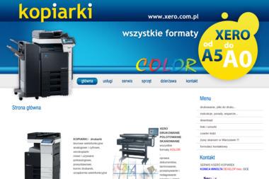 Xero kolor, plotowanie, serwis kopiarek 24. Xero, ksero - Drukarnia Łomianki