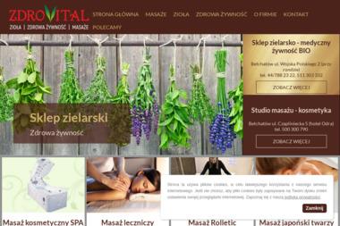 Zdrovital, Sklep zielarsko-medyczny i ze zdrową żywnością - Mięta Bełchatów