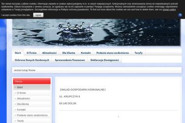 Zakład Gospodarki Komunalnej - Wywóz Gruzu Dolsk