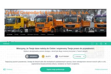 Zakład Gospodarki Komunalnej Sp. z o.o. - Transport Gruzu Kraków