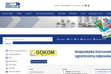 Gospodarka Komunalna Sp. z o.o. - Utylizacja Gruzu Boguchwała