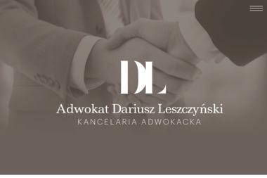 Kancelaria Adwokacka Adwokat Dariusz Leszczyński - Radca prawny Lublin