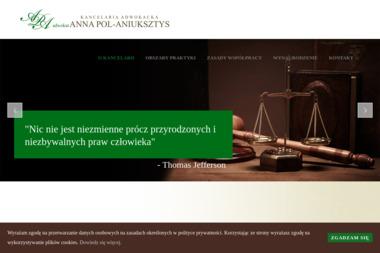 Kancelaria Adwokacka adwokat Anna Pol-Aniuksztys - Adwokat Karnista Gryfice