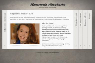 Kancelaria Adwokacka Magdalena Walter - Król - Prawo Karne Nowy Dwór Mazowiecki