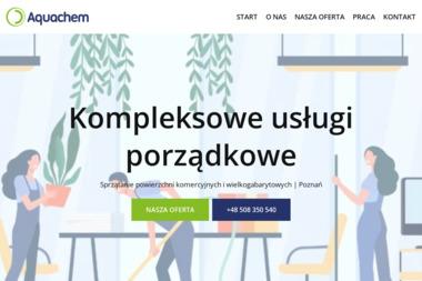 Aquachem Sp. z o.o. - Sprzatanie Biur Rano Poznań