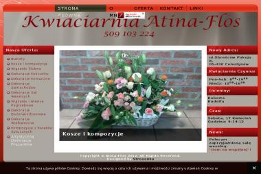 Anita Stężycka Pracownia Florystyczna Atina Flos - Dekorator wnętrz Otwock