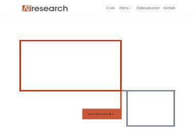 AT Research Sp. z o.o. Badania rynku, badania marketingowe - Badanie rynku Pozna艅