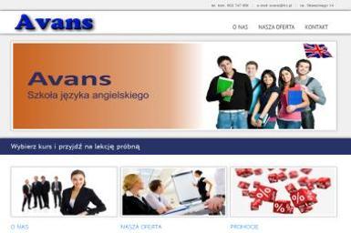 Avans Szkoła Języka Angielskiego Metodą Callana Anna Żabicka - Szkoła Językowa Trzcianka