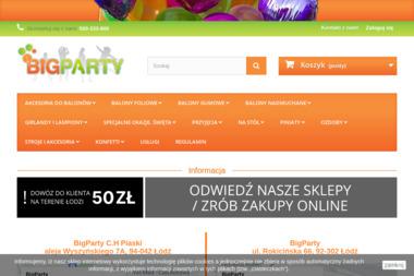 Big Party - Wypożyczalnia strojów Łódź