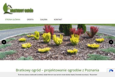 """Usługi Ogrodnicze """"Bratkowy Ogród"""" - Ogród Zimowy na Tarasie Lubosz"""