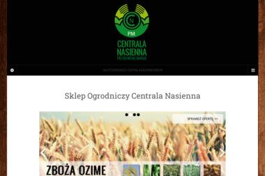 Sklep ogrodniczy Centrala Nasienna - Środki ochrony roślin Radom