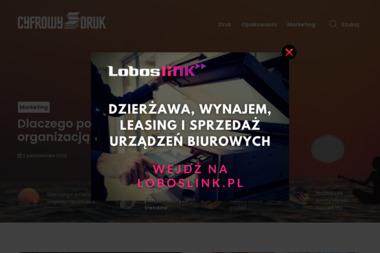 Centrum Druku JANOSZEK - Ulotki Bydgoszcz