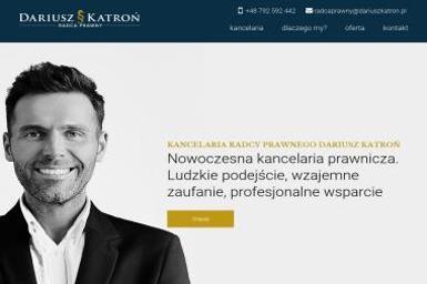 Kancelaria Radcy Prawnego Dariusz Katroń - Obsługa Prawna Świnoujście