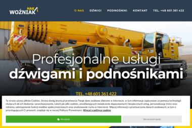 Hak usługi dźwigowe - Maszyny budowlane Leszno