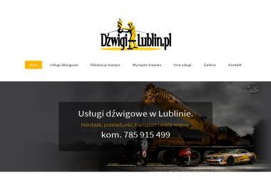 Usługi Dźwigowe - Maszyny budowlane Lublin