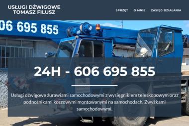 Usługi Dźwigowe Tomasz Filusz - Maszyny budowlane Swarzędz