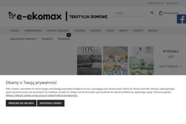 Sklep Ekomax - Wyposażenie sypialni Klecza Górna