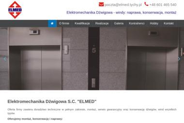 Elektromechanika Dźwigowa s.c. Elmed S.Żółty W.Gnyla R.Gnyla - Windy Tychy