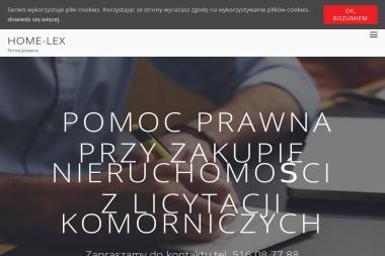 Home-Lex - Prawnik Warszawa