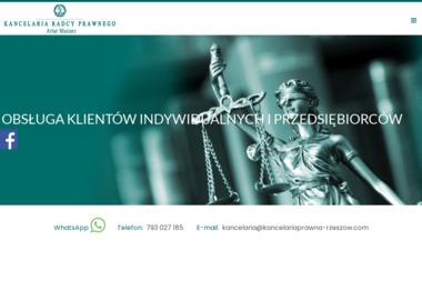 Kancelaria Radcy Prawnego Artur Maziarz - Windykacja Rzeszów