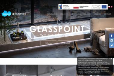 Glasspoint Marcin Krzemień - Wyposażenie łazienki Łękawica