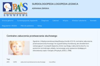 Logopeda Adrianna Zbińska - Szkolenia z Prawa Pracy Legnica