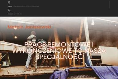 Marcin Janiszewski - Nadzór budowlany Bisztynek