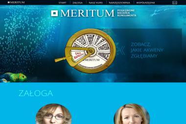 Meritum. Badania marketingowe, badania rynku - Badanie rynku Łódź