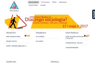 Zespół Realizacji Badań Pryzmat. Badania społeczne, badania opinii, badania rynku - Badanie rynku Toruń