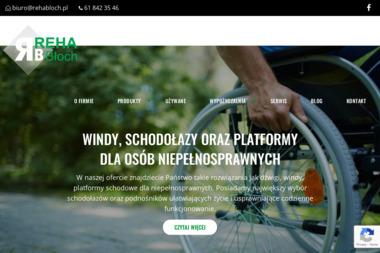 Reha Błoch. Windy dla niepełnosprawnych, platformy dla niepełnosprawnych - Windy Poznań