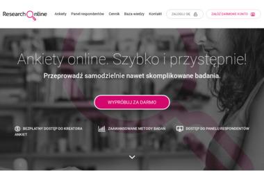 Research Online. Badania marketingowe - Badanie rynku Kraków