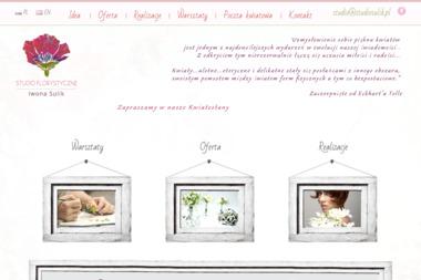 Studio Florystyczne Iwona Sulik. Kwiaciarnie, kompozycje kwiatowe - Dekorator wnętrz Kraków