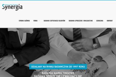 Synergia Badania Analizy Doradztwo. Badania rynku, agencje badawcze - Badanie rynku Gostynin