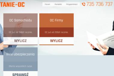 Tanie OC sp. z o.o. - Porady Ubezpieczeniowe Warszawa