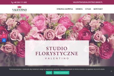 Studio florystyczne Valentino - Dekorowanie Sal Weselnych Warszawa