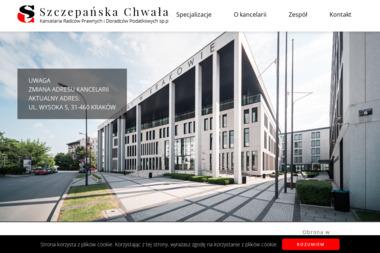 Szczepańska Chwała Kancelaria Radców Prawnych I Doradców Podatkowych Sp. p. - Porady Prawne Kraków