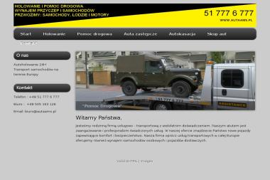 AMS Simończyk - Transport samochodów Warszawa