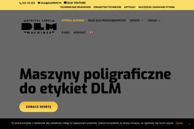 DLM -Maszyny drukarskie - Etykiety Gdynia