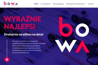 Drukarnia BOWA - Naklejki Brzesko
