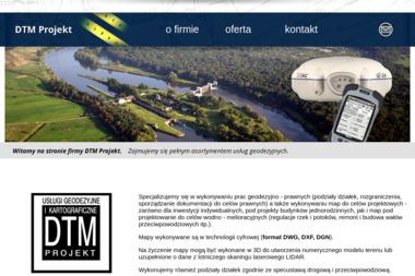 DTM Projekt - Geodeta Kraków
