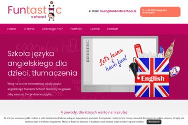 FUNtastic School Joanna Dąbrowska - Szkoła językowa Łódź