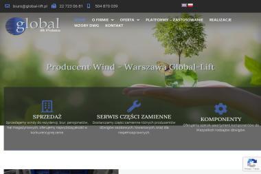 GLOBAL LIFT POLSKA - Windy Warszawa