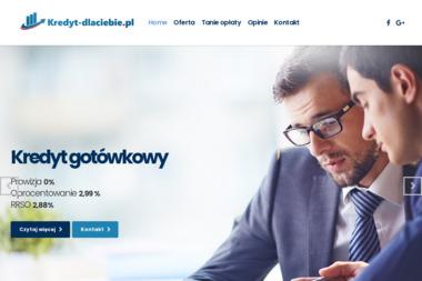 """AGNIESZKA KIRSCHKE """"TU-BEST"""" - Kredyt gotówkowy  Łódź"""