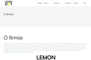Lemon Dot Marcin Niekra - Szycie Odzieży Roboczej Dąbrowa Górnicza