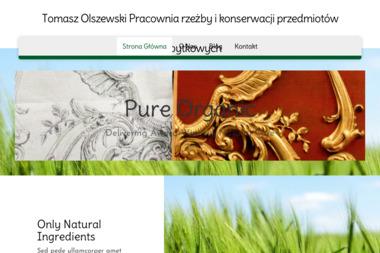 Tomasz Olszewski Konserwacja przedmiotów zabytkowych - Balustrady drewniane Warszawa