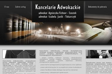 Kancelaria Adwokacka adw. Izabela Janik - Tokarczyk - Adwokat Prawa Karnego Boguszowa