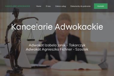 Kancelaria Adwokacka adw. Izabela Janik - Tokarczyk - Adwokat Boguszowa